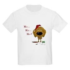 Poodle Santa's Cookies T-Shirt