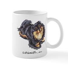 Black Tan Pomeranian Mug
