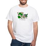 O'Kieran Famiy Crest White T-Shirt