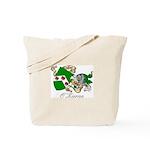 O'Kieran Famiy Crest Tote Bag