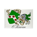 O'Kieran Famiy Crest Rectangle Magnet (10 pack)
