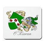 O'Kieran Famiy Crest Mousepad