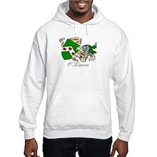 O'Kieran Famiy Crest Jumper Hoody