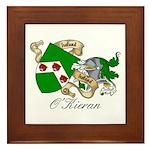 O'Kieran Famiy Crest Framed Tile