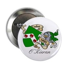 O'Kieran Famiy Crest Button