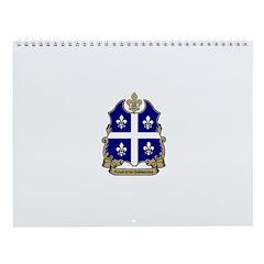 Proud Quebecoise Wall Calendar