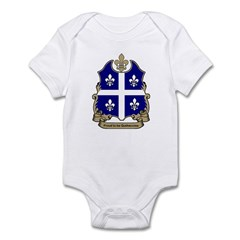 Proud Quebecoise Infant Creeper
