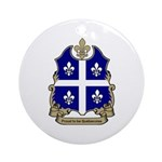 Proud Quebecoise Ornament (Round)
