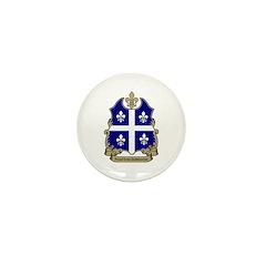 Proud Quebecoise Mini Button (10 pack)