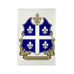 Proud Quebecoise Rectangle Magnet