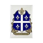Proud Quebecoise Rectangle Magnet (100 pack)