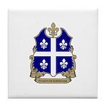 Proud Quebecoise Tile Coaster