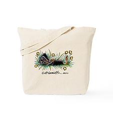 Dandelion Dachshund Lover Tote Bag