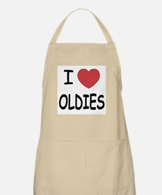 I heart oldies Apron