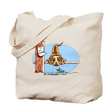 Wirehaired Dachshund Lover Tote Bag