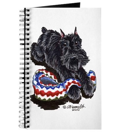 Black Schnauzer Afghan Journal