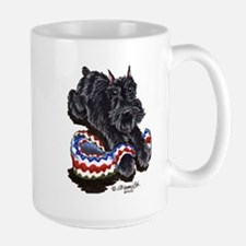 Black Schnauzer Afghan Mug