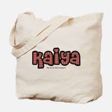 Kaiya - personalized Tote Bag