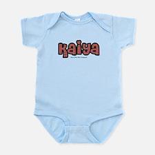 Kaiya - personalized Infant Bodysuit