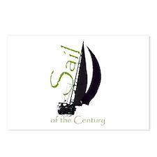Cute Boat racing Postcards (Package of 8)