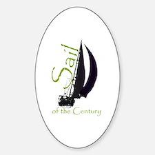 Cute Club century Sticker (Oval)