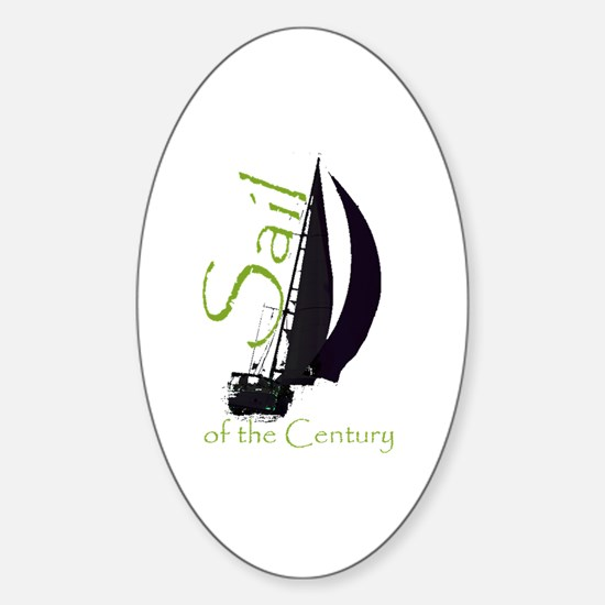 Unique Americas cup sailing Sticker (Oval)