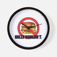 NO BIG MAC ATTAX Wall Clock