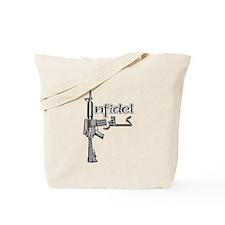 Infidel Rifle Tote Bag