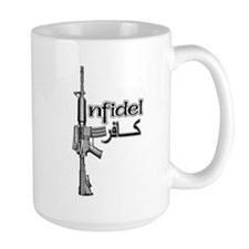 Infidel Rifle Mug