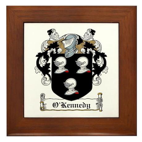 O'Kennedy Family Crest Framed Tile