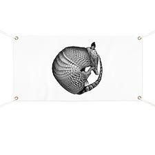 Sleeping Armadillo Banner