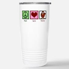 Peace Love Turkey Travel Mug