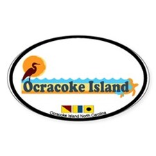 Ocracoke Island - Beach Design Decal