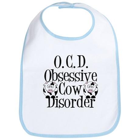 Obsessive Cow Disorder Bib