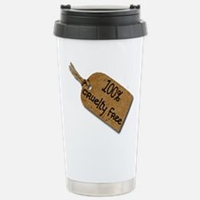 1oo% Cruelty Free 2 Stainless Steel Travel Mug