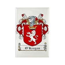 O'Keegan Coat of Arms Rectangle Magnet