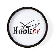 Hooker Humorous Wall Clock