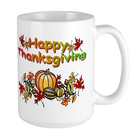 Thanksgiving Large Mug
