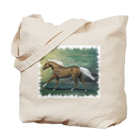 Palomino Stallion Tote Bag
