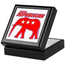 Proud GOP Republican Keepsake Box