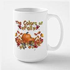 Fall Colors Large Mug