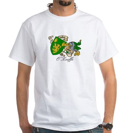 O'Keeffe Family Crest White T-Shirt