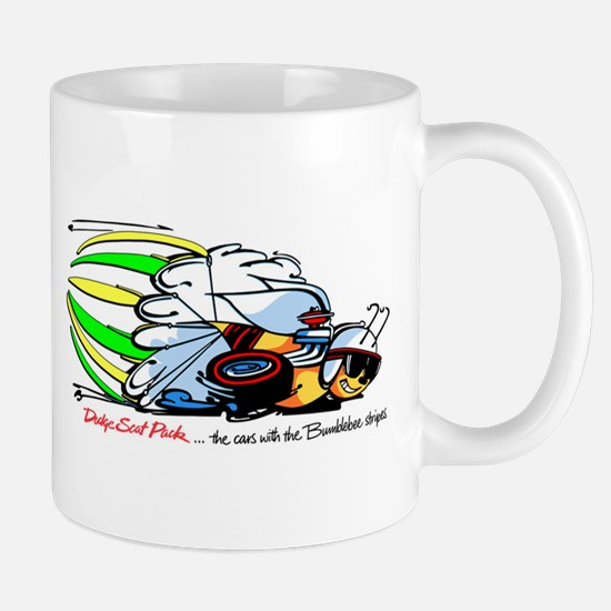 Scat Pack - Cars with Bumble Bee Stripes Mug