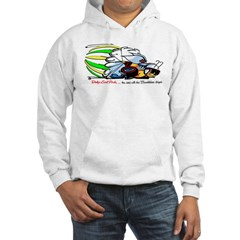 Scat Pack - Cars with Bumble Bee Stripes Hoodie