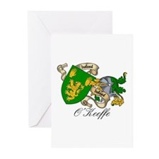 O'Keeffe Family Crest Greeting Cards (Pk of 10