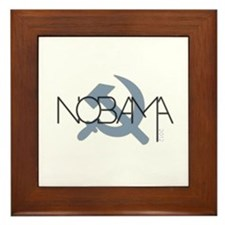 NOBAMA! Framed Tile