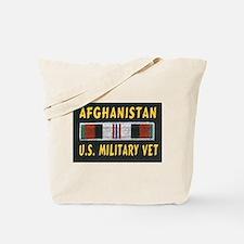 AFGHANISTAN MILITARY VET Tote Bag