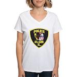 Elgin Illinois Police Women's V-Neck T-Shirt