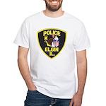 Elgin Illinois Police White T-Shirt