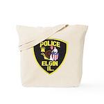 Elgin Illinois Police Tote Bag